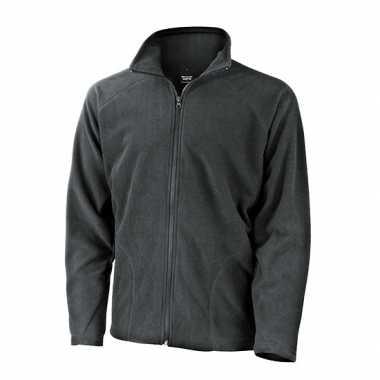 Grijs fleece vest Viggo voor heren